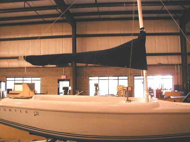 Hunter 170 - Sailcover