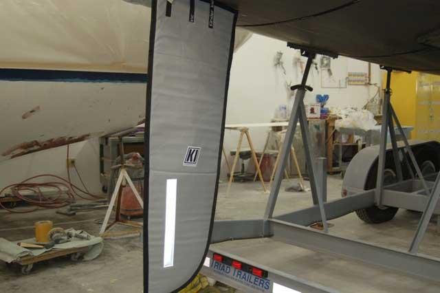 J 105 - Rudder Cover
