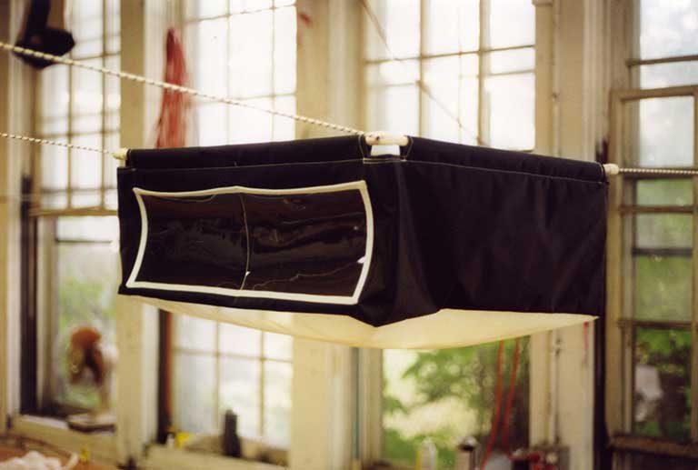 J 22 - Spin Bag with frame