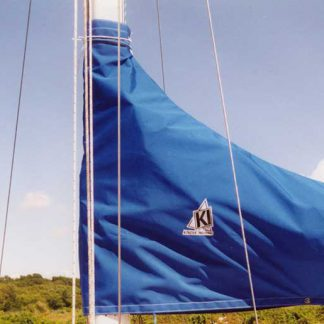 Freedom 35 stack style sail cover and jib cover