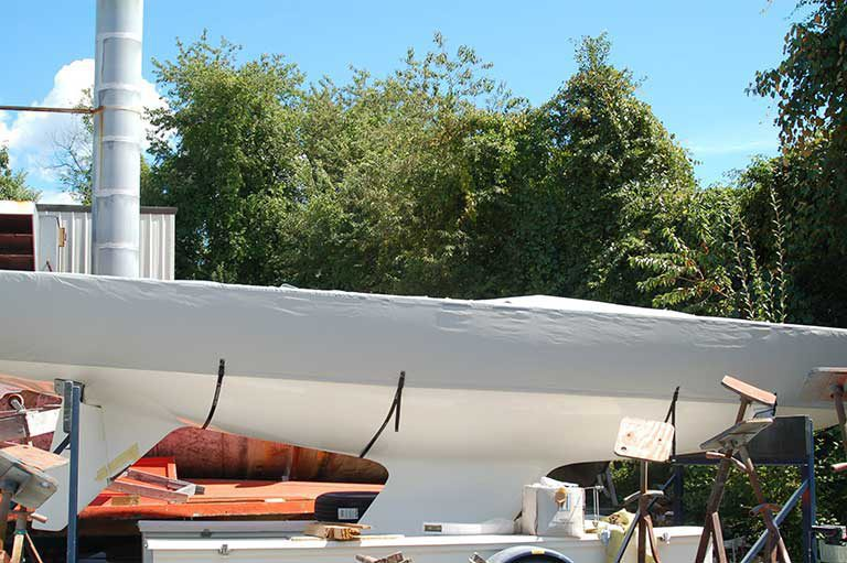 Etchells - Flat Deck Cover with Sides