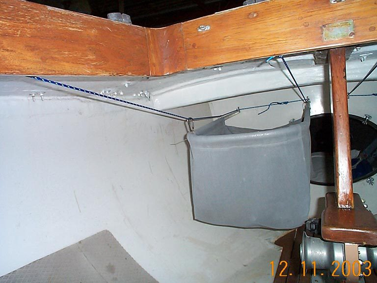 Shields Spinnaker Launcher Bag with Aluminum Frame