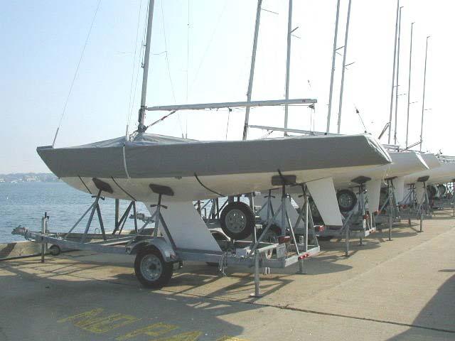 Yngling Full Boat Cover