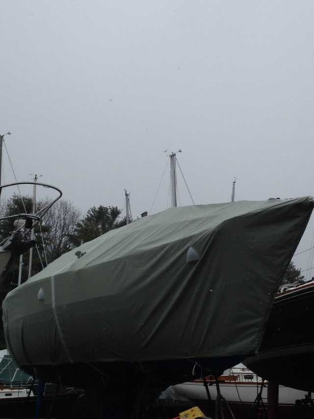 J-35 Winter Cover with Frame