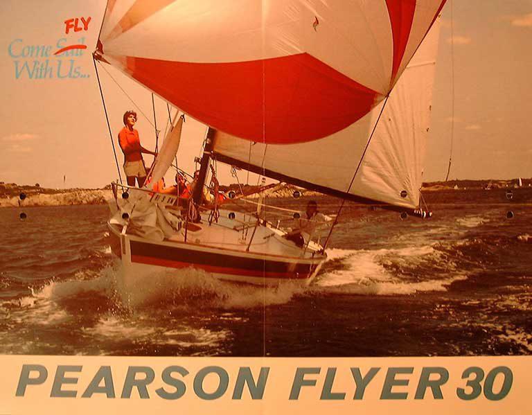 Pearson Flyer Sail Cover