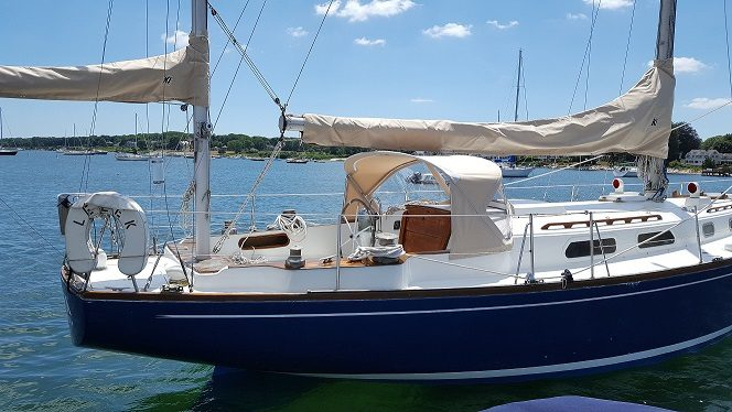 Pearson 424 Sail Cover(Main and Mizzen)