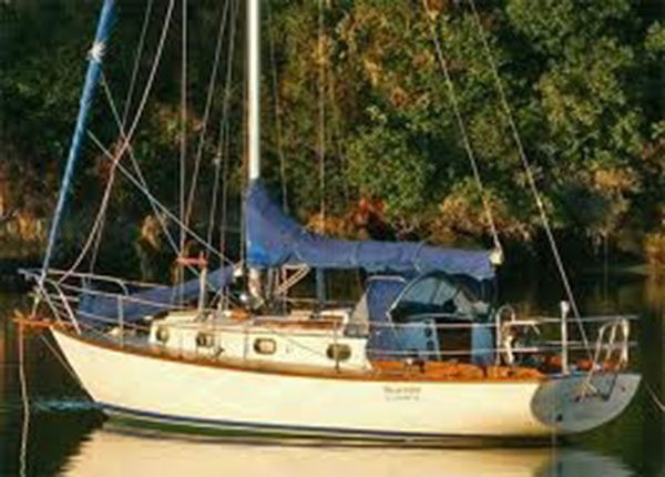 Cape Dory 30 Sail Cover