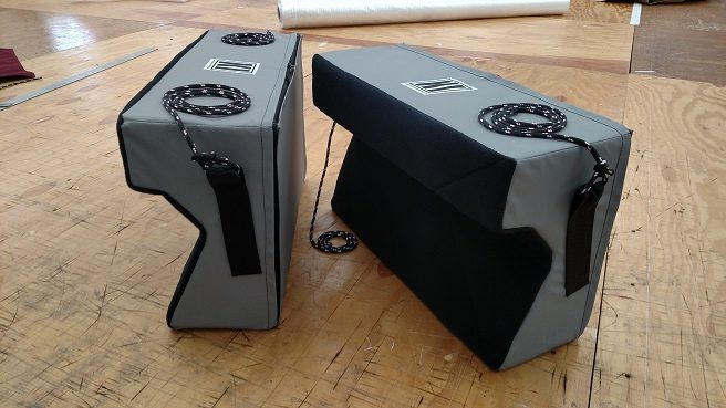 KI Pro Angled Fenders – Small