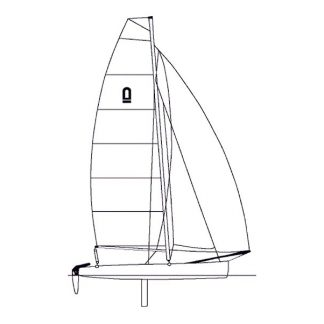 Nacra inter 20 Yard cover