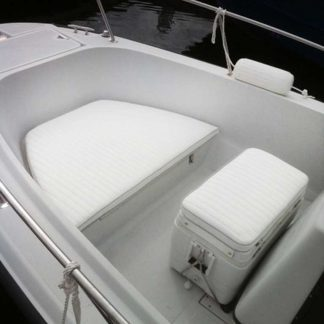Small Powerboat bow and cooler cushion