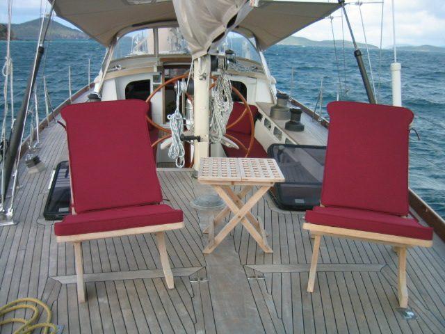 Custom Deck Chair Cushions