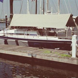 Swan 42 Sun Awning