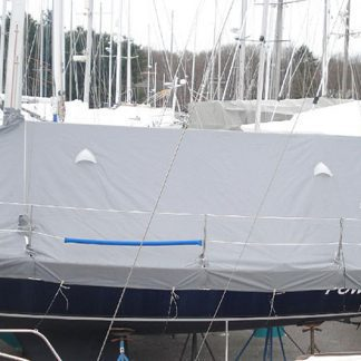 Mumm 30 Skirted Deck Cover