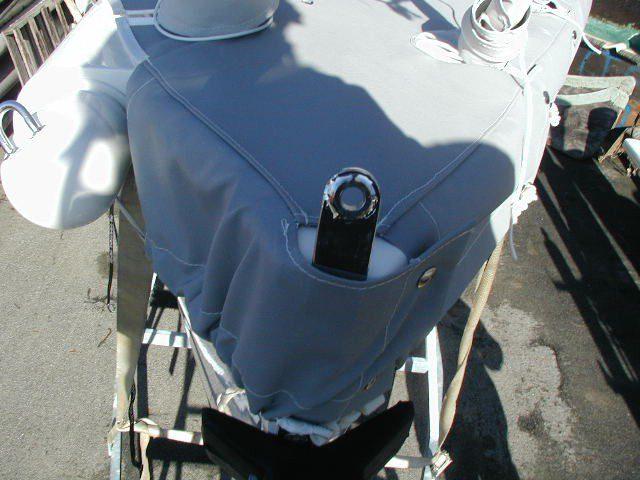 "J80 - Full Deck Cover with 10"" Skirt"
