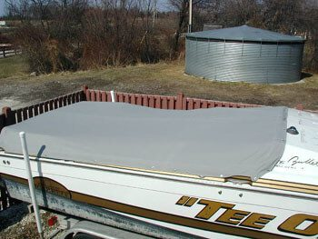 Powerboat Deck Cover
