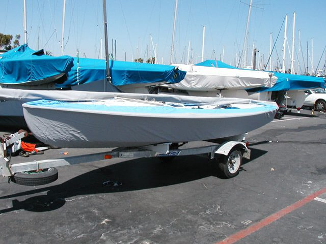 Snipe Hull Cover with Mast Bag