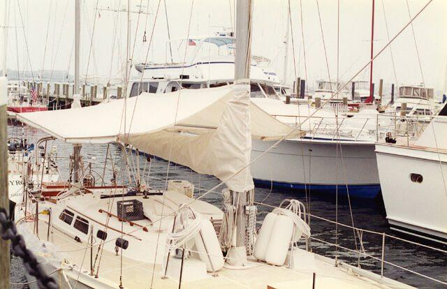 Custom Yacht Bimini