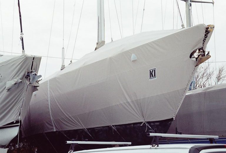 Swan 55 Winter Cover