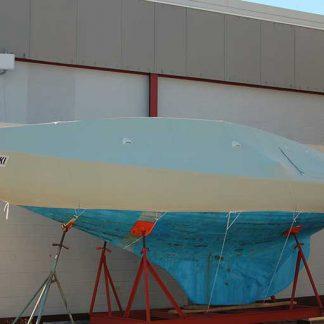 Herreshoff S Boat Winter Cover