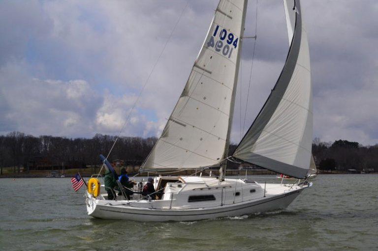 Pearson 30 Boom Tent Winter Boat Cover