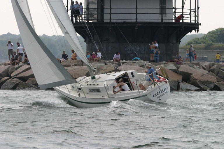 Pearson 28 Boom Tent Winter Boat Cover